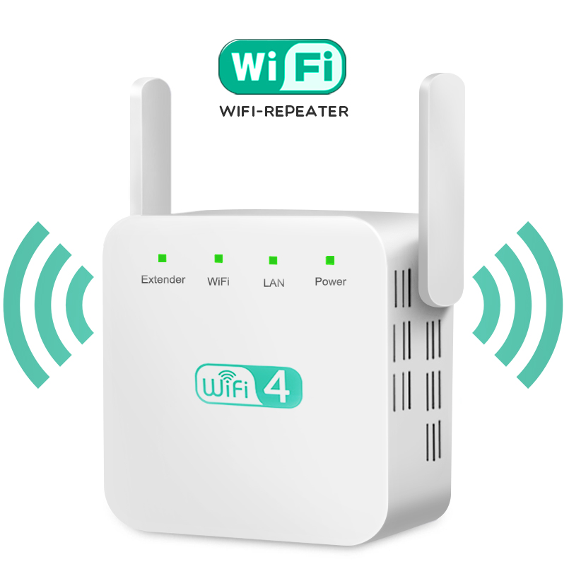 Wireless WiFi Repeater WiFi Extender Antenna WiFi Booster 2.4G Wi Fi Amplifier Long Range Signal Wi-Fi Repiter Wlan Repeater