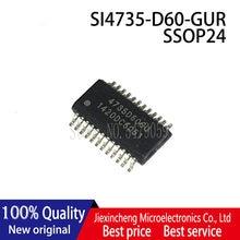 Комплект из 2 предметов-5 шт. SI4735-D60-GUR 4735D60GU SI4735-D60-GU SSOP24 новый оригинальный