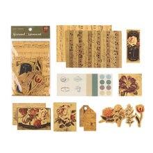 Englisch zeitung pflanzen Material Papier Junk Journal Planer Handwerk Papier Scrapbooking Vintage Dekorative DIY Handwerk Fotoalben