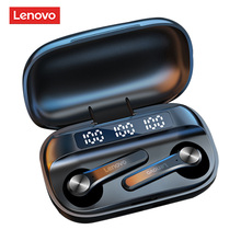 Gaming Headset Earbuds Lenovo Tws Earphone Wireless Noise-Reduction Stereo Bass Bluetooth