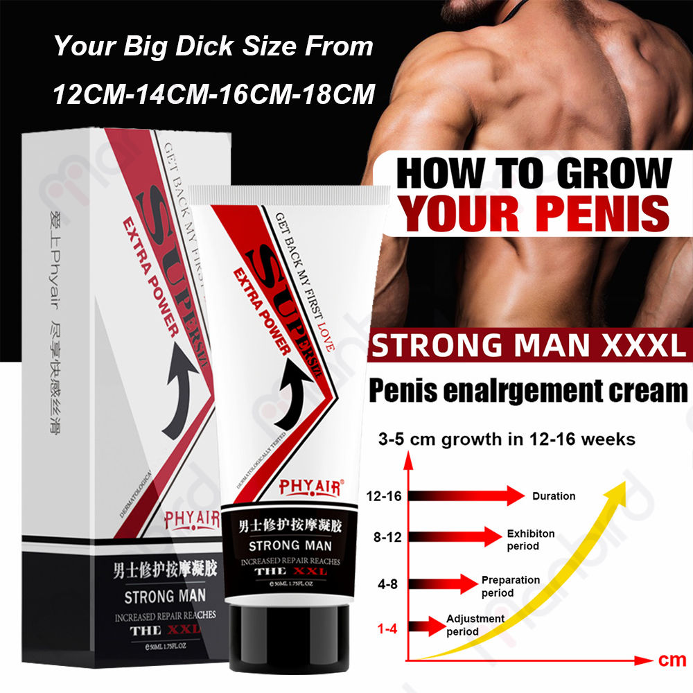 XXL Penis Enlargement Cream Aphrodisiac Pills Erection Products Herbal Increase Big Dick Growth Extension Thicker Massage Gel