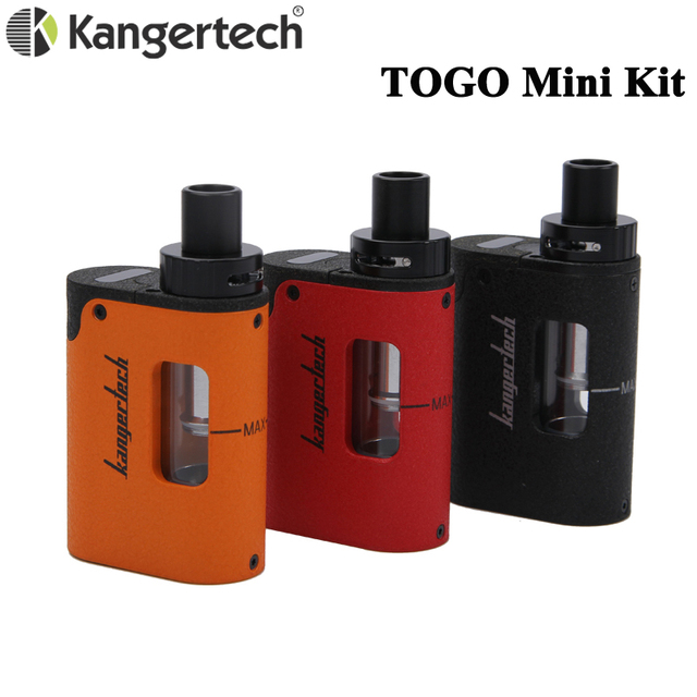 Kanger TOGO Mini 2.0ชุด1.9MLถัง1600Mah/4.0ชุด3.8ML Atomizer Kangertechพร้อมCLOCC Coilหัวอิเล็กทรอนิกส์บุหรี่Vape