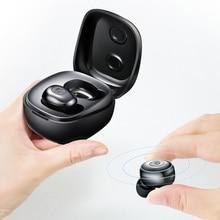 DS02 TWS Bluetooth 5.0 אמיתי אלחוטי Bluetooth אוזניות Binaural מיני אוזניות ב אוזן HIFI אוזניות O5 X1 X1E I8 e12 I7 bv.2 dt6