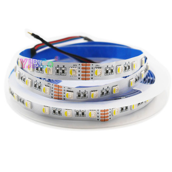 5050 SMD RGBW/RGBWW LED Strip light 5M/lot DC12V 24V;4 color in 1 led chip;60Leds/m 300leds Waterproof IP30/65/IP67 flexible 5m lot 5 color in 1 led chip rgbww led strip smd 5050 flexible light rgb cool white
