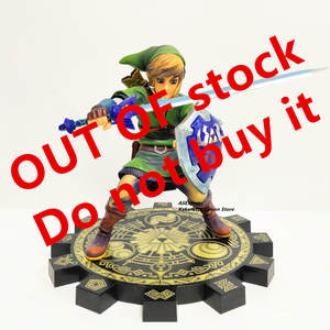 Sword Figurine Model-Toy 1/7-Anime Zelda of PVC Collectible Stock Skyward -Out