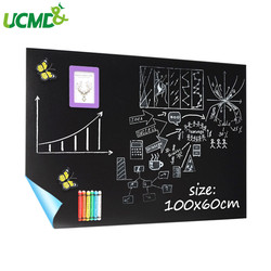 100 x60cm Abnehmbare Tafel Vinyl Wand Aufkleber Self adhesive Kinder Graffiti Schreiben Lernen Tafel Büro Schule Versorgung