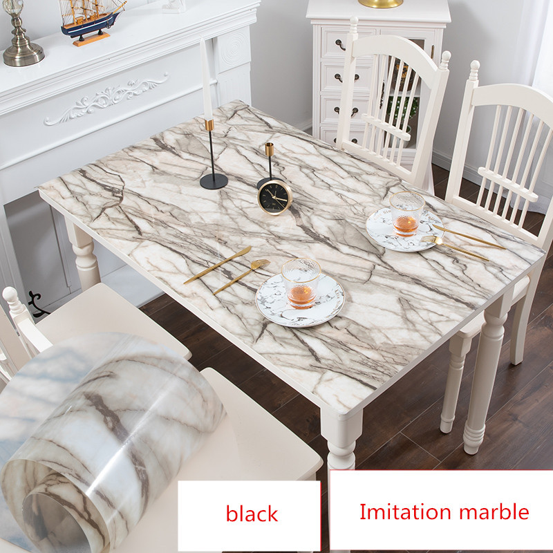 Pvc Tablecloth Imitation Marble Table Mat Placemat Waterproof Oilproof For Dining Table Customize Coffee Table Cloth Desk Cover Table Cloth Coffee Table Clothtablecloths Waterproof Aliexpress