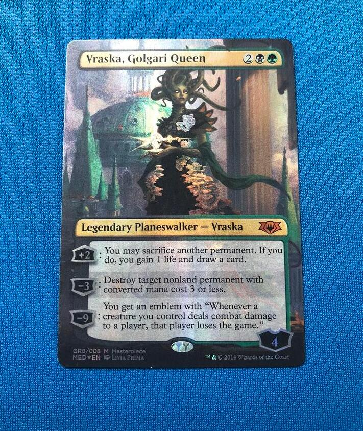 Vraska, Golgari Queen MED Mythic Edition Foil Magician ProxyKing 8.0 VIP The Proxy Cards To Gathering Every Single Mg Card.