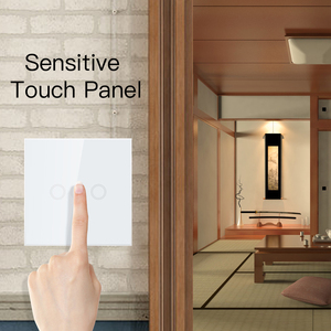 Image 3 - NEO COOLCAM 3CH Z wave Plus Wall Light Switch 3 Gang Home Automation Wall Light Switch Touch Control EU 868.4MHZ