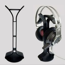 Hot Headset Hanger Holder Universal Aluminum Earphone Hanger Headphones Stand Supporting Bar For Gaming Headsets Dropship(China)