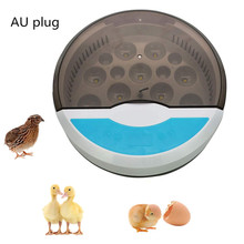 Mini 9 Egg Incubator Farm Hatching Automatic Digital Temperature Humidity Control Brooder Poultry Quail Chicken Duck Bird LED