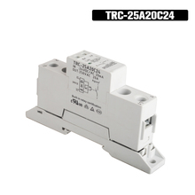 цена на TRC-25A20C24 High Power Din Rail Relay 24VDC/AC 20mA Input 250VAC 20A Output Soft Starting Electromagnetic Contact Relay Module