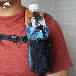 Image 1 - 3F UL ציוד מים בקבוק רצועת חבילת אחסון תיק פאוץ תרמיל כתף רצועת כיס הידרציה Carrier מחזיק לטיולים קמפינג