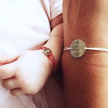 Personalizuj niestandardowe imię dziecka bransoletka grawerowanie list ze stali nierdzewnej regulowana bransoletka noworodki to dziecko dziewczyny chłopcy prezent