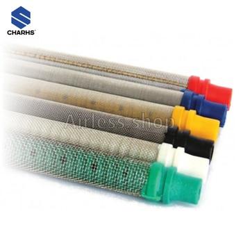 Airless gun filter 10pcs  Push-In type  paint sprayer gun filter 30/60/100/150 mesh  for wa9ner paint sprayer gun  304 Stainless