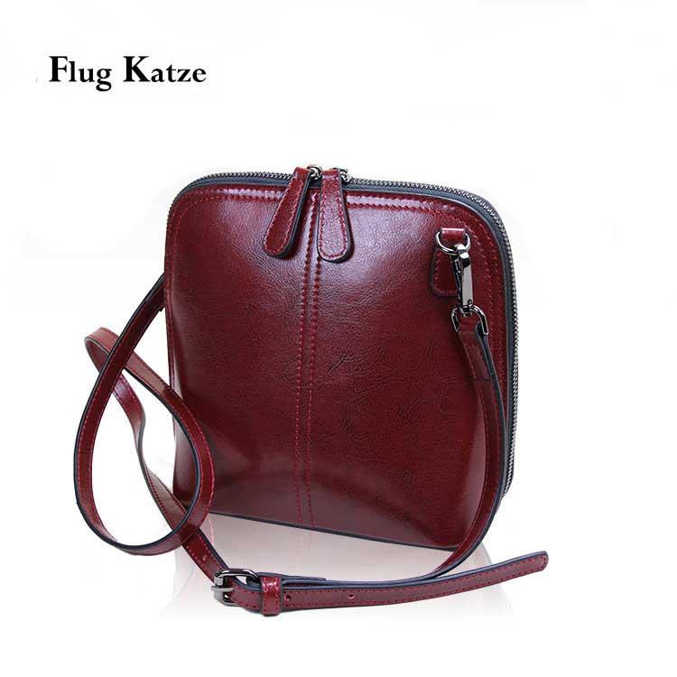 2020 Genuine Leather Women's Shoulder Bags Women Shell Crossbody Bag Flap Famous Brand Designer Ladies Shell Messenger Bags