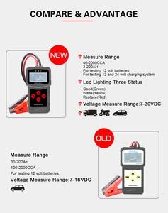 Image 5 - Lancol Mciro200Pro Für 12V Batterie Tester Diagnose Werkzeuge Für Auto Mit Digital Automobil Analyzer Tester Werkzeug Für Auto Tester