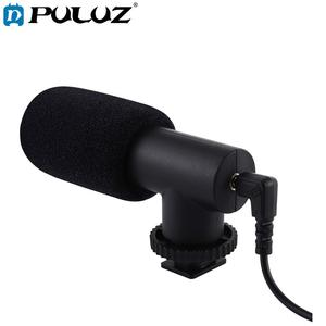 Image 1 - PULUZ 3.5mm אודיו סטריאו קולנוע קידוד מחדש צילום ראיון מיקרופון עבור Vlogging וידאו DSLR & DV עבור iphone, טלפונים חכמים