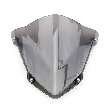 цена на Windshield Windscreen For YAMAHA MT-07 FZ-07 2018 2019 2020 Motorcycle Accessories Pare-brise Wind Deflectors MT07 FZ07 MT FZ 07