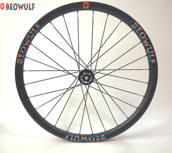 29er 35mm carbon MTB wheel clincher tubeless wheelset Mountain Bike Wheels 6 bolts disc break super light Hookless BOOST HUB image