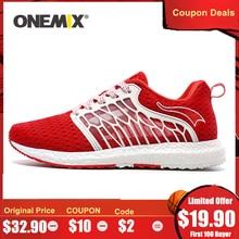 ONEMIX Summer Breathable Mesh Women Sports Shoes Light Comfo