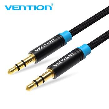 Convenio 0,5 m 1m 2m 5 m Cable Aux de 3,5mm a 3,5mm Cable de Audio macho a macho Kabel oro macho Cable auxiliar de coche para iphone Samsung xiaomi