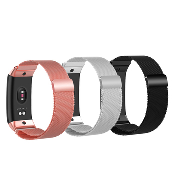 NEW Luxury Magnet Clasp Milanese Wrist Strap for Huami Amazfit COR 2 Strap Replaceable smart Bracelet metal Watch Band Accessory
