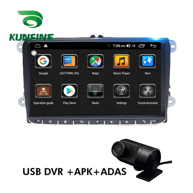 Android Car DVD GPS Navigation Multimedia Player Car Stereo For VW Universal touch screen Radio Headunit (6)