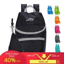 Ultra light folding travel bag backpack unisex outdoor hiking