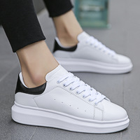 2019 New Men Casual Shoes Designer Sneakers Leather Men Shoes Fashion Comfortable lightweight Shoes Footwear Zapatillas C1 10A