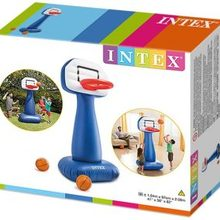 Inflatable Basket of Intex game for the garden, beach or pool
