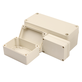 1PC DIY ABS Electronic Plastic Box Waterproof Junction Box Electrical Transparent Cover Enclosure Waterproof Junction Case