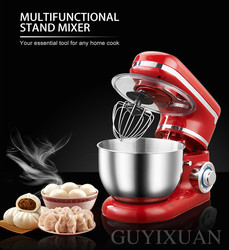 1200W household stainless steel bowl dough mixer commercial multi-function eggbeater Dough mixer Kneading machine