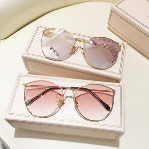 MS Women Sunglasses 2020 Luxury Decoration Classic Eyewear Female Sunglasses Cat Eye Sun Glasses Fashion UV400