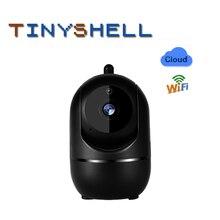 Black 1080P Wireless IP Camera surviliance camera Smart Auto Tracking Human Home Security Surveillance CCTV Network indoor
