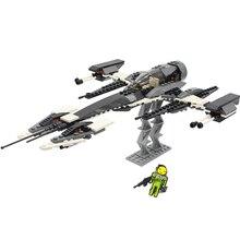 Star Wars Phantom X Fighter Alien Space Starwars in Building Blocks Sets Bricks Model Kids Toys Compatible цена в Москве и Питере