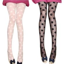 Stocking Pantyhose Hosiery Lingerie Party-Tights Printed Cosplay Polka-Dot Retro Vintage