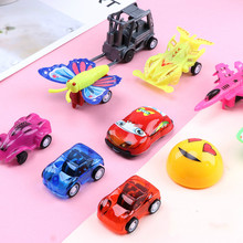 Pull Back Mini Vehicle Cartoon Car Kids Favor Toys for Children Funny Baby Kids Educational Model Plastic Toy Gift Car Toys 4 pcs alloy pull back car toys car children racing car baby mini cars cartoon pull back bus truck kids toys for children boy gif
