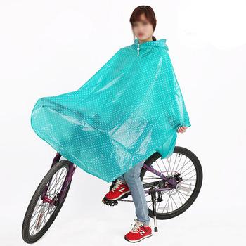 Moda fala płaszcz przeciwdeszczowy rowerowy mężczyźni kobiety peleryna przeciwdeszczowa Poncho z kapturem wiatroodporny płaszcz przeciwdeszczowy skuter inwalidzki pokrywa płaszcz przeciwdeszczowy tanie i dobre opinie XiJing Odzież przeciwdeszczowa Small Umbrella Single-osoby przeciwdeszczowa Płaszcze Z tworzywa sztucznego Dorosłych