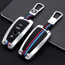Per BMW F10 F20 F30 X3 X4 M3 M4 E34 E90 E60 E36 F25 G30 F11 M3 M4 1 3 5 7 serie custodia portachiavi in lega di zinco accessori per coperture