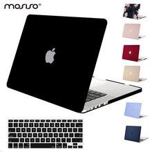 Mosiso coque de protection mate pour Macbook Air Pro 13, 15 Retina, pour ordinateur portable Macbook A1502 A1425 A1398, 2020, 2016, 2017 et 2018
