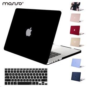 Image 1 - Mosiso coque de protection mate pour Macbook Air Pro 13, 15 Retina, pour ordinateur portable Macbook A1502 A1425 A1398, 2020, 2016, 2017 et 2018