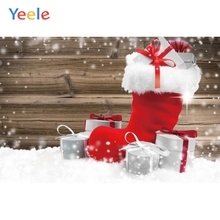 Yeele Christmas Photocall Snow Old Wood Shoes Gifts Photography Backdrops Personalized Photographic Backgrounds For Photo Studio yeele christmas photocall candy old wood gift decor photography backdrops personalized photographic backgrounds for photo studio