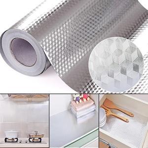 40X100CM Aluminum Foil Self Ad