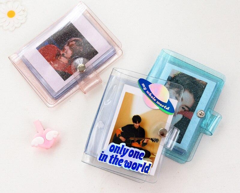 32 Емкость мини моментального фотоаппарата Polaroid Фотоальбом для 3 дюймов photocard для магазина Kpop группа поздравительные открытки