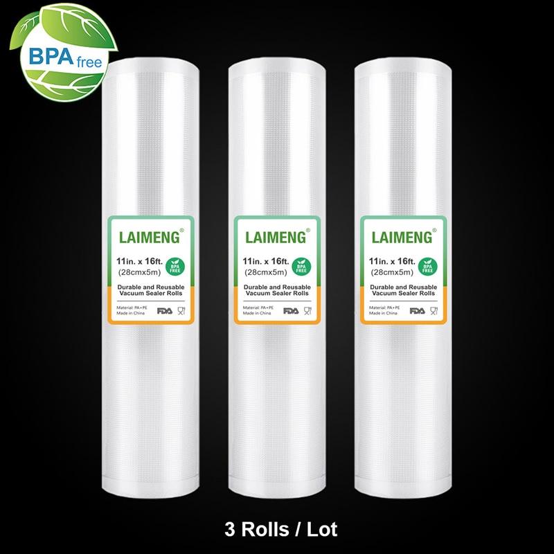 LAIMENG Film Sealing-Machine Vacuum-Sealer-Bags Rolls for Textured R119
