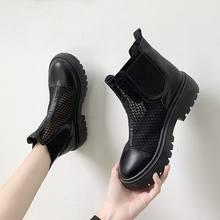 Туфли женские на платформе дышащие высокие кроссовки повседневная