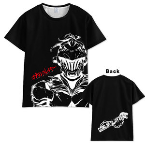 Anime Goblin Slayer T shirt Tops Unisex Cosplay Short Sleeve Summer  Tops Unisex t shirt