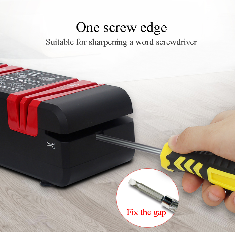 Multi-function knife sharpener Electric Household fast sharpener automatic knife grinder Kitchen knife grindstone 110V 220V