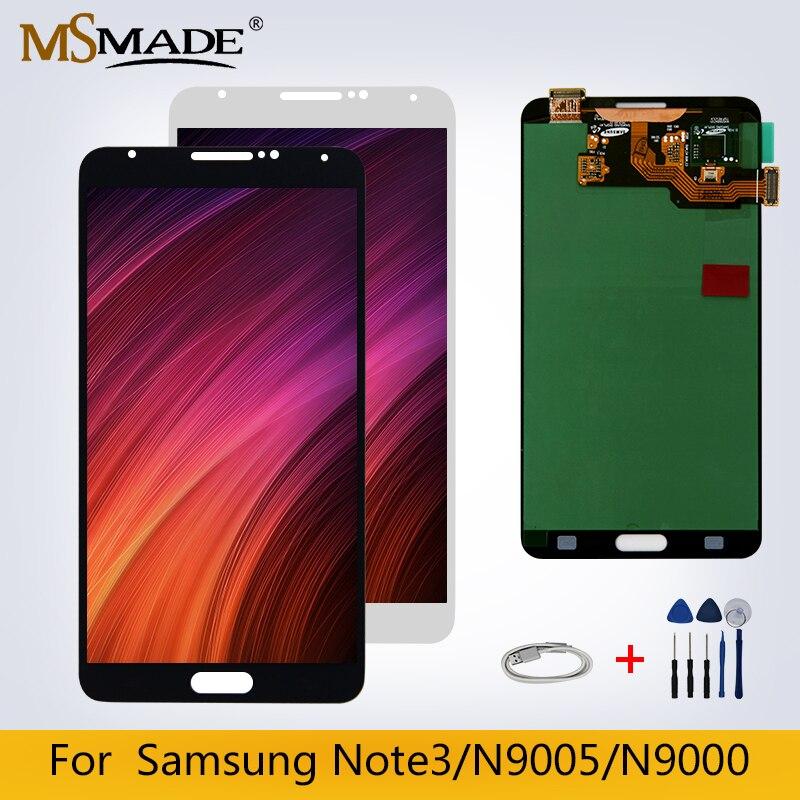 Original pour Samsung Galaxy NOTE 3 N9005 LCD écran tactile N9000 numériseur pièces de rechange 100% testé livraison gratuite
